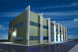 Budynek hali produkcyjno-magazynowej wraz z budynkiem biurowo-socjalnym zakładu produkcyjnego