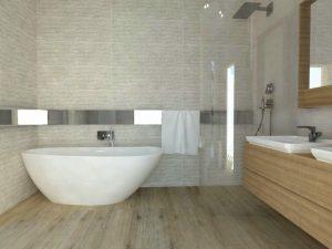 Projekt łazienek w domu jednorodzinnym